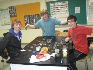 Kev, Nick & Jake (Fall 2011)