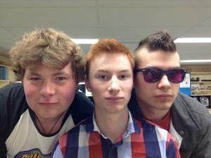 Nick, Kev, & Jake (April 2013)