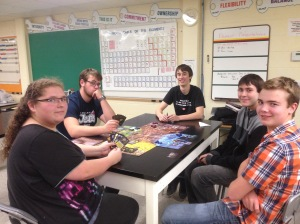 Playtest at CPS